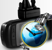 Logging your travels with global positioning system.
