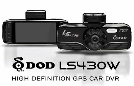 DOD LS430W with WDR night vision