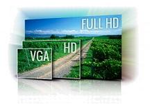 Definições da câmara HD DOD LS360W